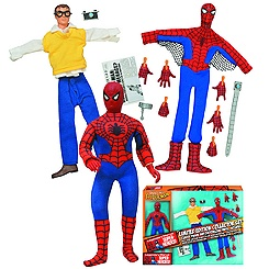 Spider-Man Limited Edition Retro Action Figure Collector Set - 8''