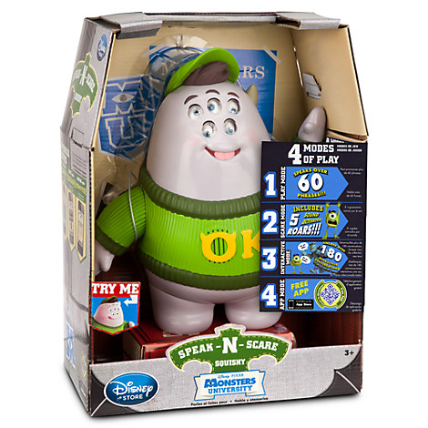 Squishy Speak-N-Scare Talking Action Figure - Monsters University