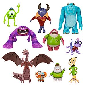 Monsters University Deluxe Action Figure Set
