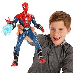 Electro-Web Spider-Man Action Figure - 12''