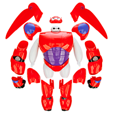 Baymax Armor-Up Action Figure - Big Hero 6 - 8''