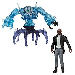 Marvel's Avengers: Age of Ultron Action Figure Set - Nick Fury Vs. Sub Ultron 007 - 2 1/2''
