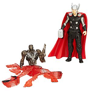 Marvel's Avengers: Age of Ultron Action Figure Set - Thor Vs. Sub Ultron 005 - 2 1/2''