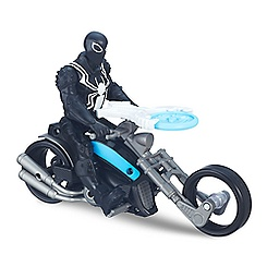 Venom Action Figure w/ Symbiote Cycle - Ultimate Spider-Man v Sinister Six - 6''