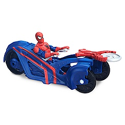 Spider-Man Action Figure w/ Street Racer - Ultimate Spider-Man vs. Sinister Six