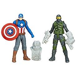 Captain America Civil War Action Figure Set - Captain America and Mercenary