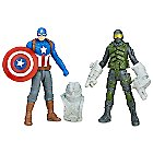 Captain America Civil War Action Figure Set - Captain America and Mercenary