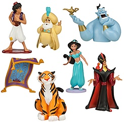 Aladdin Jasmine Figure Play Set