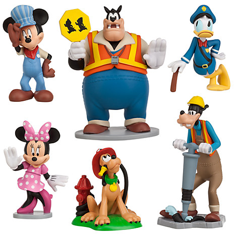 Disney Mickey Mouse Clubhouse Pete Minnie Loose Figurine
