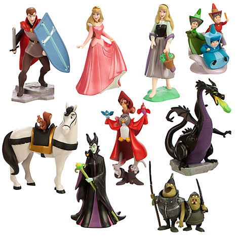 Sleeping beauty deluxe figure play set disney princess toys