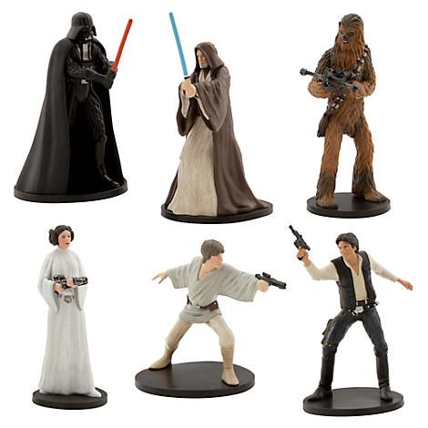 disney star wars figurines. Black Bedroom Furniture Sets. Home Design Ideas