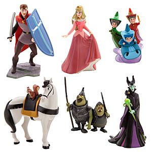 Aurora Figure Play Set