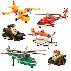 Planes: Fire & Rescue Figure Play Set