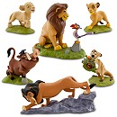The Lion King Figure Play Set -- 6-Pc.