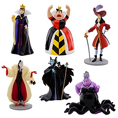 Disney Villains Figure Play Set