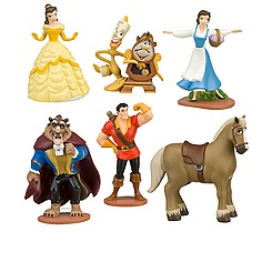 Beauty and the Beast Belle Figure Play Set