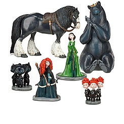 Brave Figure Play Set