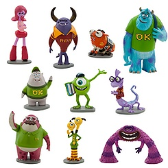 Monsters University Deluxe Figure Play Set