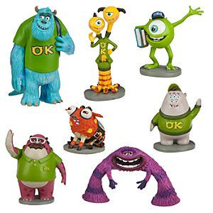 Monsters University Figure Play Set