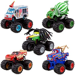 Monster Truck Mater Deluxe Figure Set