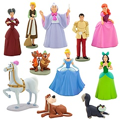 Cinderella Deluxe Figure Play Set