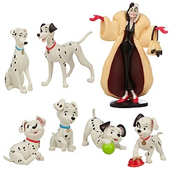 101 Dalmatians Figure Play Set