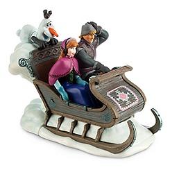 Frozen Sleigh Wind-Up Toy
