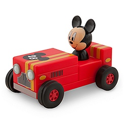 Mickey Mouse Pullback Car