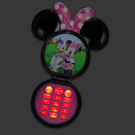 Disney mickey mouse clubhouse minnie mouse toy mobile cell phone party favors bn ebay - Minnie mouse mobel ...