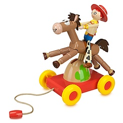 Jessie and Bullseye Pull Toy
