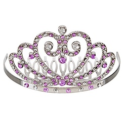 Disney Princess Tiara Haircomb -- Purple