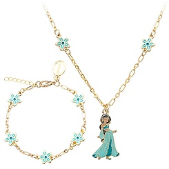 Jasmine Necklace and Bracelet Set