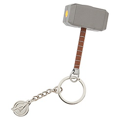 Thor Hammer Light-Up Keychain