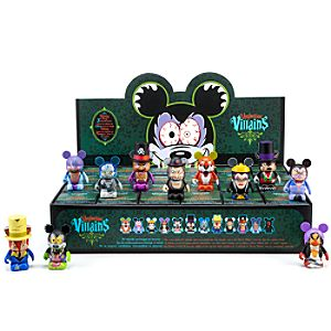 Vinylmation Villains Series 2 Figures -- 3 -- Tray of 24-Pc.