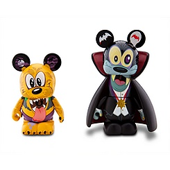 Vinylmation Spooky 2 Series Goofy and Pluto Set - 3''