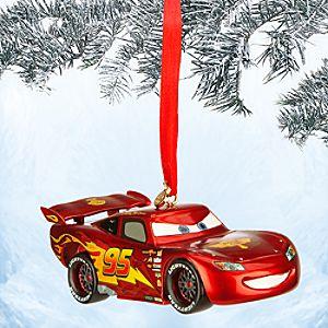 Lightning McQueen Light-Up Sketchbook Ornament