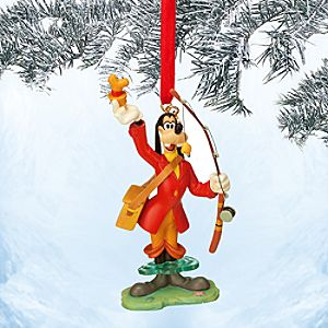 Goofy Sketchbook Ornament - How to Fish