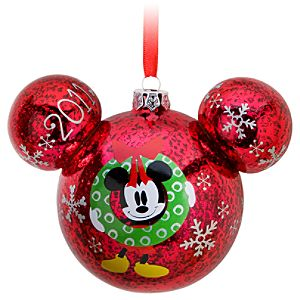Share the Magic 2011 Minnie and Mickey Mouse Icon Ornament