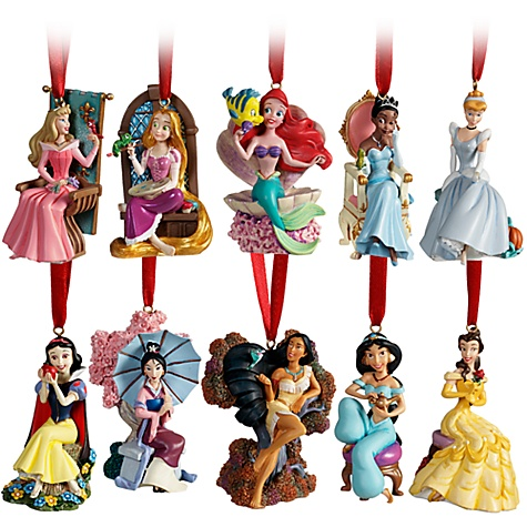 Disney christmas ornaments for Ariel christmas decoration