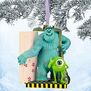 Sulley and Mike Sketchbook Ornament - Monsters, Inc.