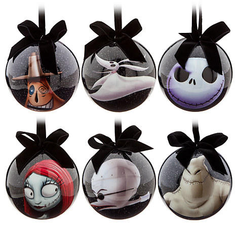 The Nightmare Before Christmas Découpage Ornament Set | The Nightmare ...