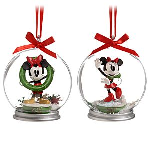 Share the Magic 2011 Minnie and Mickey Mouse Ornament Set -- 2-Pc.
