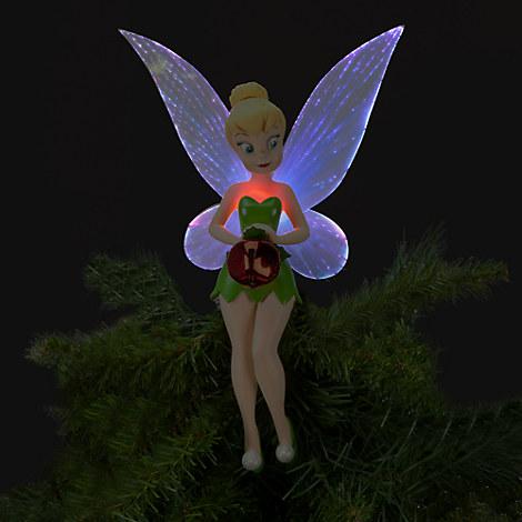 New Disney Store 2012 Light Up Tinker Bell Christmas Tree