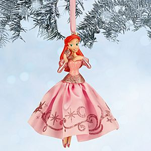 Ariel Sketchbook Ornament