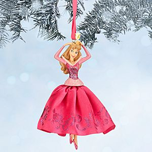 Aurora Sketchbook Ornament - Sleeping Beauty - Pink