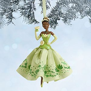 Tiana Sketchbook Ornament