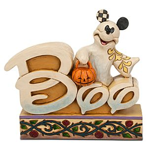 Mickey Mouse ''Boo'' Figure by Jim Shore