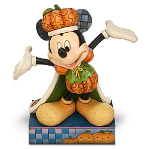 Mickey Mouse ''The Pumpkin King'' Figure by Jim Shore