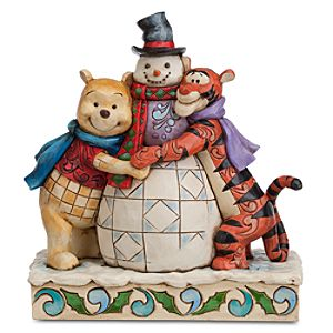 Winnie the Pooh and Tigger ''Winter Hugs'' Figure by Jim Shore