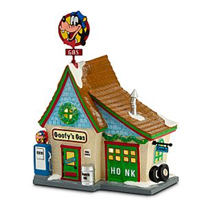 Goofy ''Goofy's Gas Station'' Building by Dept. 56